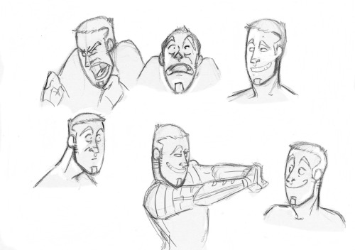 Sunday expression doodles. : )