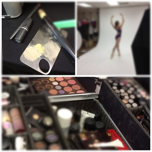 Must be photo shoot day at #discountdance we love photo shoots! We have some gorgeous #dance models in the studio today. #wedance #dancephotography  (Taken with Instagram)