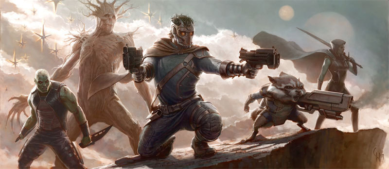 "First Plot Summary For 'Guardians of the Galaxy' Surfaces Online! Out of all of Marvel Studios' announced projects, Guardians of the Galaxy is easily one of the most anticipated movies on the horizon. Most fans are aware of just how big of a chance Marvel is taking by introducing this team of intergalactic superheroes to moviegoing audiences, especially those who aren't familiar with the source material. Despite the initial announcement of the film, the studio has remained relatively mum about the details surrounding the ""big space epic"", leaving fans on the edge of their seats as they await new info.  It appears that fans may be getting their first taste of the film in the form of a brief plot summary that's been posted on the reliable industry site, Production Weekly. Providing a rundown of future film and television projects, the attached PDF document includes a brief plot synopsis for each individual project, including the upcoming Guardians of the Galaxy. Read more: http://www.geekrest.com/2012/08/first-plot-summary-for-guardians-of-the-galaxy-appears/#ixzz23jeL6M7N"