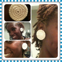 Crochet clip ons. Wanted to make something classy. Any thoughts? Should I jaz them up.