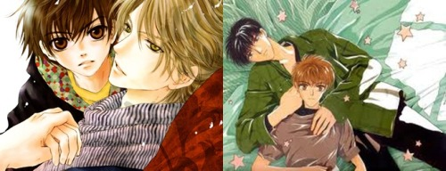 Can't wait for the anime for Super Lovers…  They better do it properly, cuz I am crazy about them.. Komatta Toki ni wa Hoshi ni Kike! and Super Lovers stole my heart!!! Abe Miyuki is the BEST!!!!