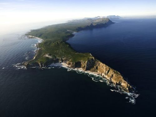 Cape of Good Hope in South Africa, Africa's southwesternmost spot
