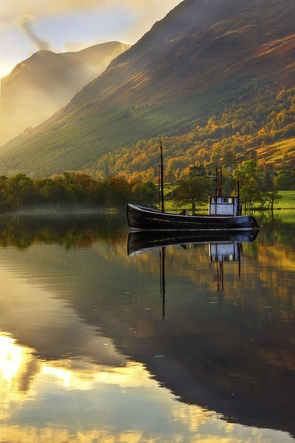 windy1466:  Autumn Lake, West Highlands, Scotland