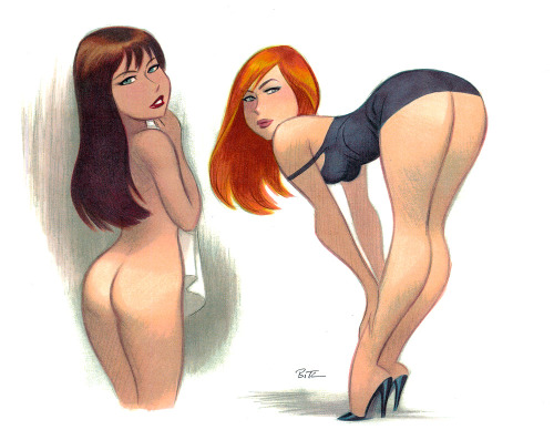 spaceshiprocket:  Bruce Timm