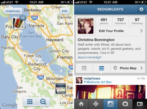 wired:  Is Instagram 3.0's new maps feature a privacy wake-up call?  Yes, time to wake up.  The Privacy/Publicy dilemma is just that: a dilemma. There is no solution, per se.  If you want to live out loud, sharing photos of your comings and goings with anything other than a hand-picked coterie of friends — managed in some way so that they cannot play them forward to others — then you have to accept the possibility that someone might use that to stalk you.  This is a parallel to living in the real world by the way. When you go out on the town there is nothing to stop someone from following you around, noting where you go, what you drink, who you talk to, and taking pictures the whole time. That's how private eyes make a living.  Yes, it seems callous and perhaps male-centric to make this argument, because it is common that women are the objects of stalking, and men are so commonly the stalkers. But, this can't be 'solved' by better terms of use, or privacy controls in the software. We each have to decide how far we want to be flipped by the dilemma, and what opportunities it presents us.  And that's what this new release shows: Instagram is embracing the Privacy/Publicy dilemma, not avoiding it. Related articles Instagram 3.0's New Maps Feature: A Privacy Wake-Up Call? (wired.com) The author 'feels safe' given that no new information is being presented, just a better presentation Instagram Wants More Than Your Sepia Sunset Snapshot (huffingtonpost.com) Users Of Instagram Use Instagram To Tell Instagram They Are Unhappy (snspost.com) Instagram Refreshes App by Including Photo Maps (Jenna Wortham via nytimes.com) 'Currently, only 15 to 25 percent of Instagram users add their location to photographs. Someday the company hopes to offer the ability for users to see all of the images uploaded to Instagram around a certain location or event.'