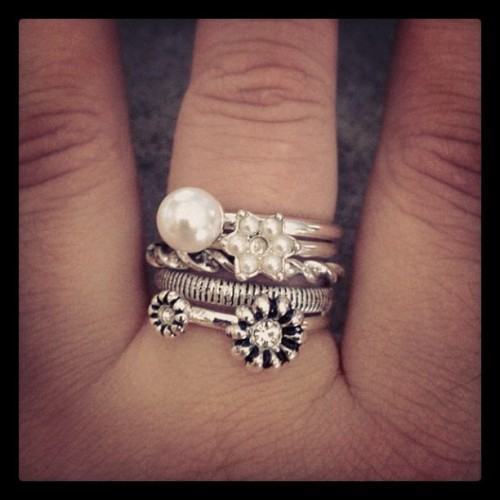 My new ring set! #pretty  (Taken with Instagram)