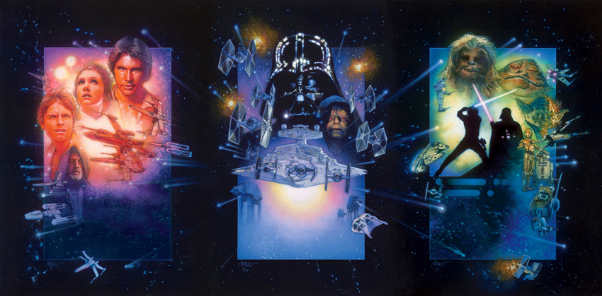 The work of Drew Struzan