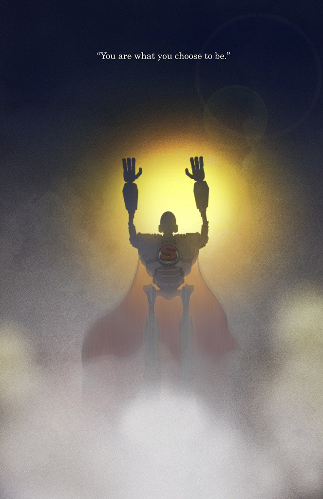 heyoscarwilde:  I am not a gun. The Iron Giant illustrated by Joshua Jenkins :: via pawnsplight