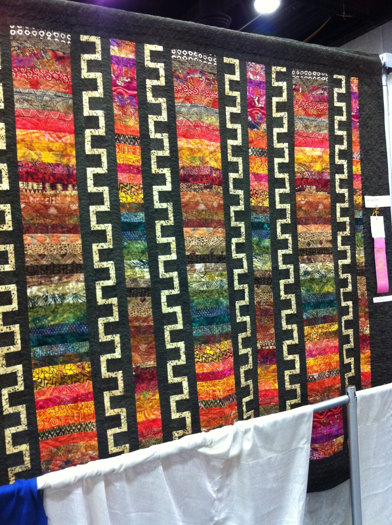 thomcubby:  My Mom got 4th place in the Kentucky State Fair for her quilt! :)
