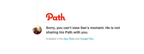 Isn't @path a little too private? :)