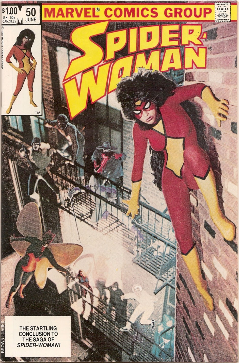 Spider-Woman #50. Photographer: Eliot R. Brown. 1983.
