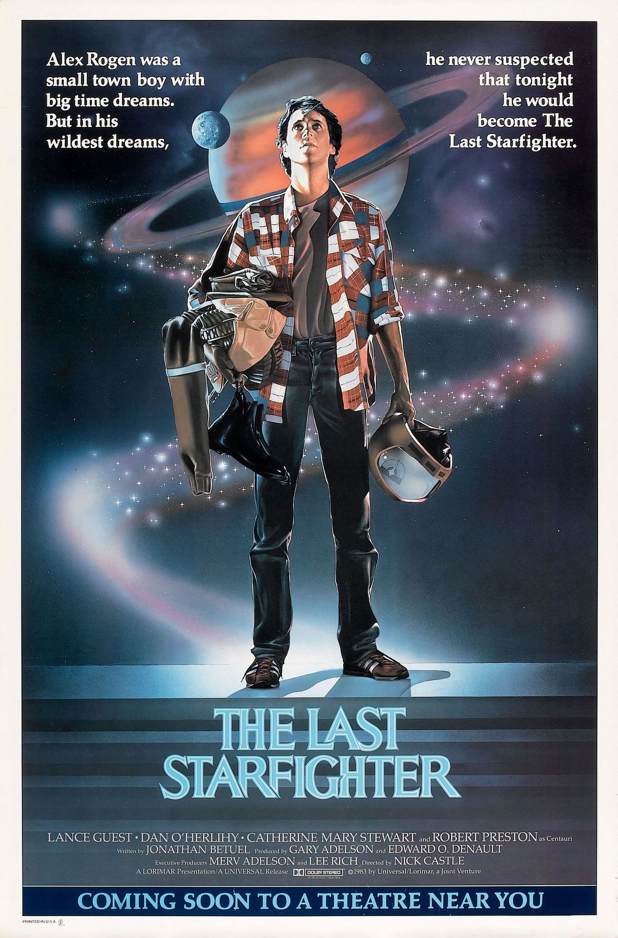At least The Last Starfighter makes being sick worth while.