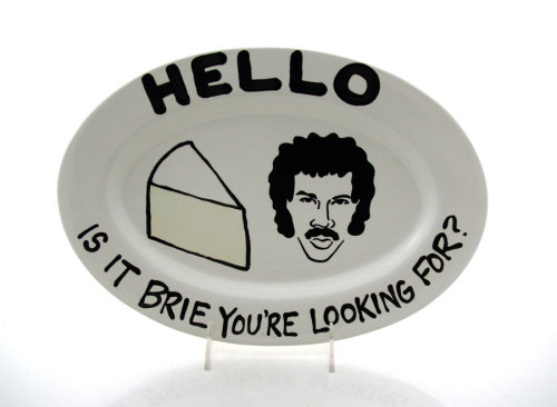 Hello is it brie you're looking for? (via heykata:jaymug) Related poster. And related tea set.