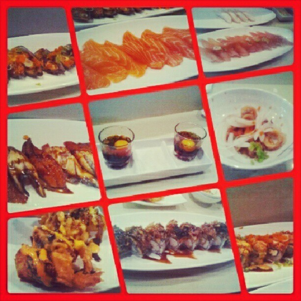 Lunch at Asahi with @krispykeane #instagood #lunch #sushi #AYCE  (Taken with Instagram)