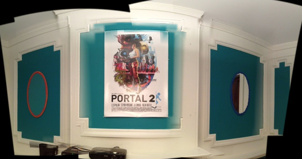 The Portal room at Vox HQ, via @TheDZ.