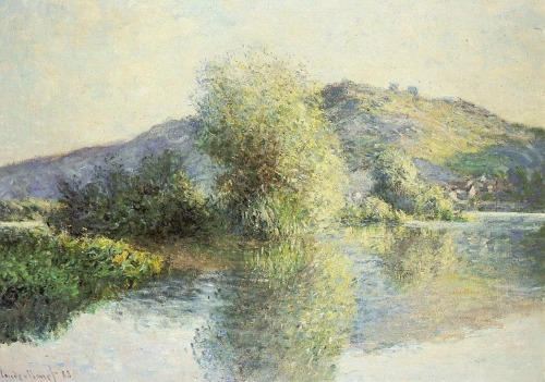 Claude Monet   Islets at Port-Villez, 1883