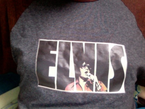 oldfilmsflicker:  I'm wearing (one of) my Elvis shirt(s) until I have to go to work today
