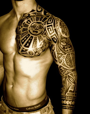 lifesmyplayground:  Tribal Sleeve