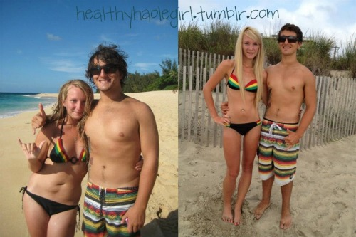 healthyhaolegirl:  this is my wonderful fiance, ben :)making changes together <3 healthy & happy! check out his blog!! :)
