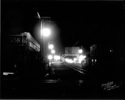 Night falls on Fortune Street. Tampa, 1935.