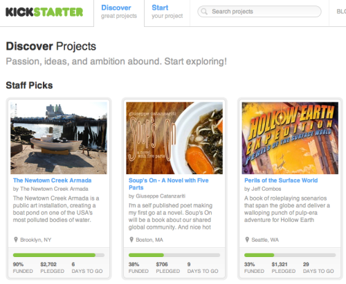 Great news, everyone! Soup's On has been made a Kickstarter's Staff Pick! And right at the top, no less!   Be part of something extraordinary.   PS - In honour of this prestigious occurrence, we are preparing a rare behind the scenes of the writing process. Stay tuned!