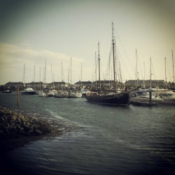 A part of Liverpools history visits Pwllheli  (Taken with Instagram)