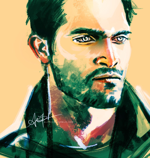 alicexz:  DEREK HAS ONE EXPRESSION ONLY and that's hot angry stare