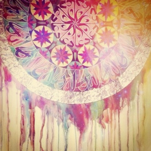 we-rattle-this-scene:  This is seriously so pretty. #pretty #art #colors #pattern (Taken with Instagram)