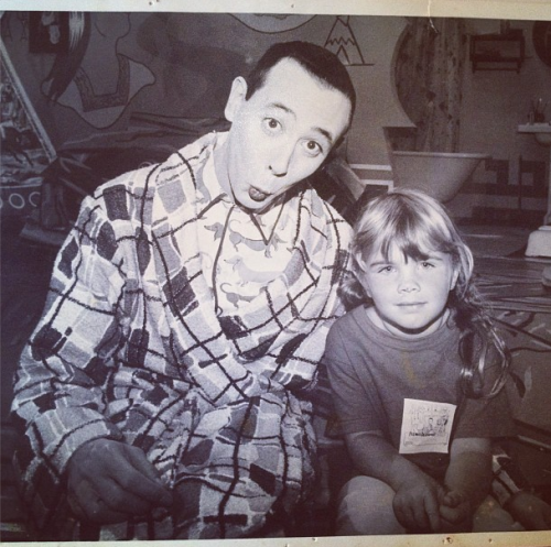 Pee Wee Herman and I on Pee Wee Herman's Playhouse - Victoria http://instagram.com/p/OZ6BRKyaNm/