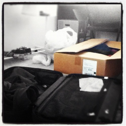 Packing… (Taken with Instagram)