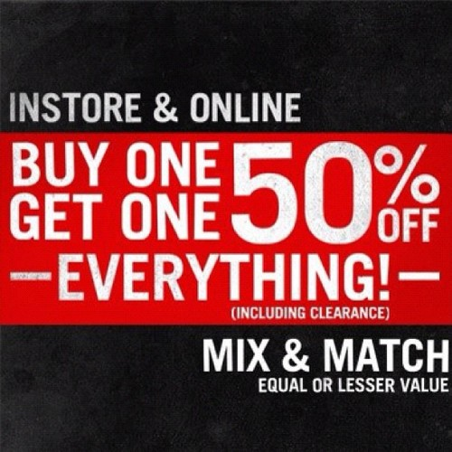 #Hottopic #sale (Taken with Instagram at Hawthorne, California)