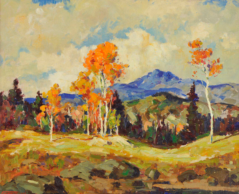 Fremont Ellis New Mexico Landscape - Oil on canvas