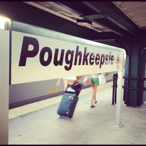 Never thought I'd ever be here again… #poughkeepsie (Taken with Instagram)