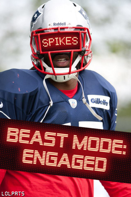 DAFT SPIKES! lolpats:  SPIKES BEAST MODE: ENGAGED