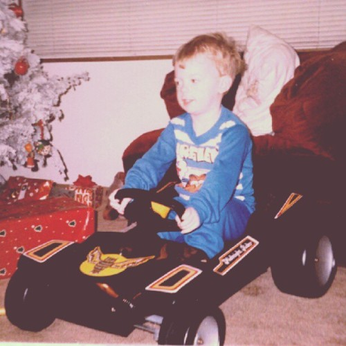 Happy Birthday Kenny! Here he is with his first set of wheels. #throwbackthursday #lonerangersmc #birthday #wheels (Taken with Instagram)