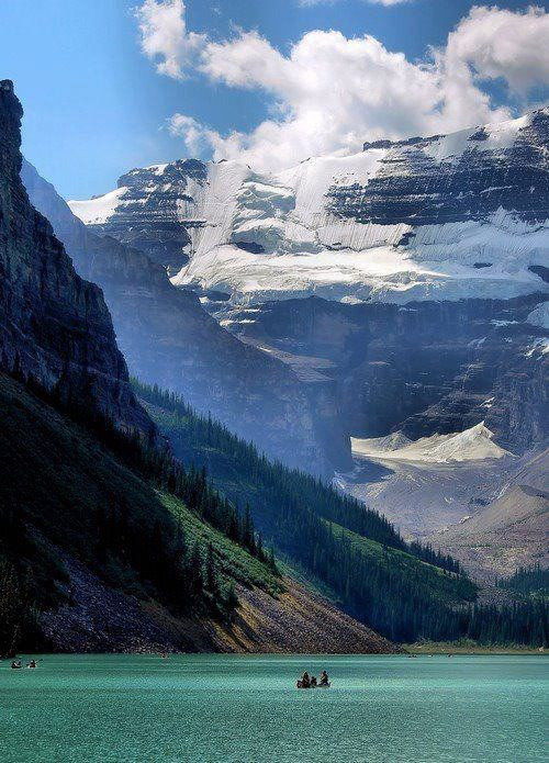 dawnawakened:  Glacier Fed Lake, Alaska