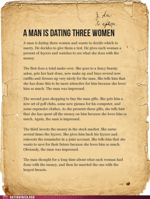 Dating: The Test