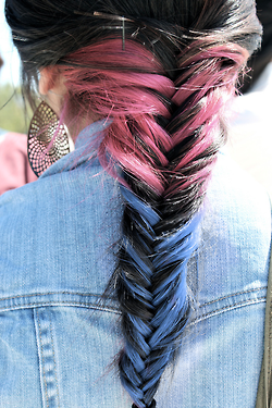Anya Goy - Rainbow Hair on @weheartit.com - http://whrt.it/NJs9qg