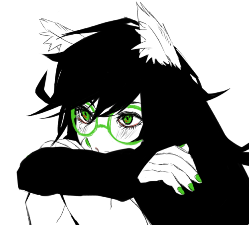 xuunies:  drew my soon-to-be sidebar image edit: fixed the black