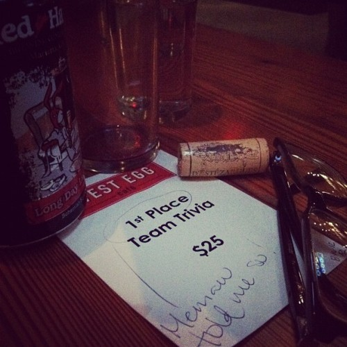 TEAM MEMAW RULES!!! #westeggcafe #atlanta #teamtrivia (Taken with Instagram)