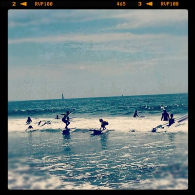 #surf #california #cityofangels  #escueladelavida   (Taken with Instagram)