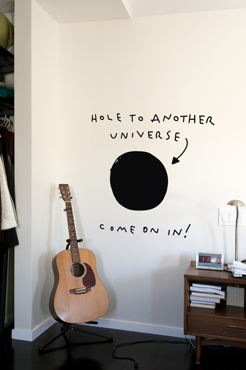 cations:  Hole to Another Universe (via Blik Wall Decals)  Reblogged via Stumblr