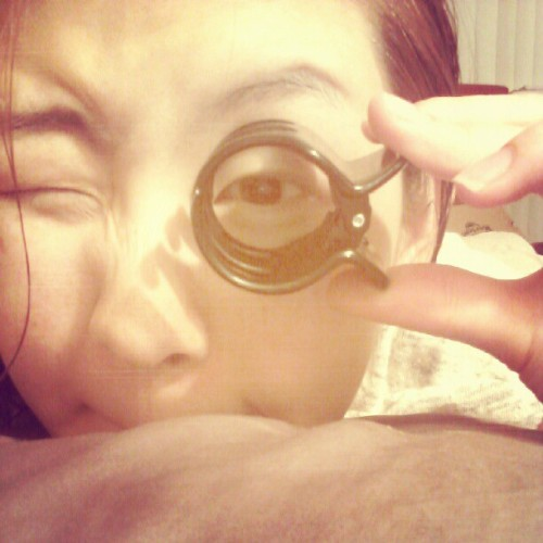 Monocle lol ㅋㅋ… 곧 만 21 유치뿅짝 #Monocle #funny #Korean #Toronto #21 (Instagram으로 촬영)