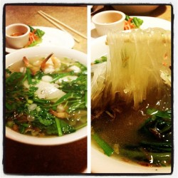 Glass noodles. #pho (Taken with Instagram at Pho 79 Vietnamese Noodle Soup)