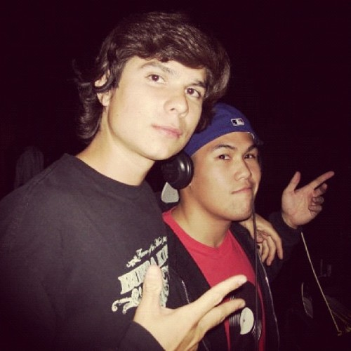 O damn! @alfalpha & I #tbt #2006 #ucr #hiphopcongress  (Taken with Instagram)