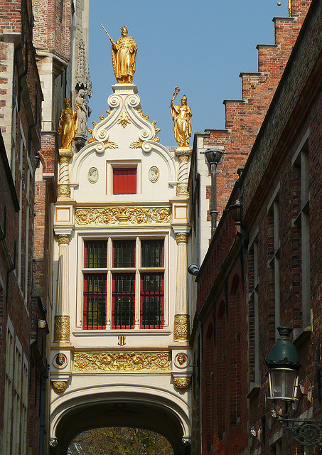 ysvoice:  | ♕ |  Facade of museum - Bruges | by © abac077