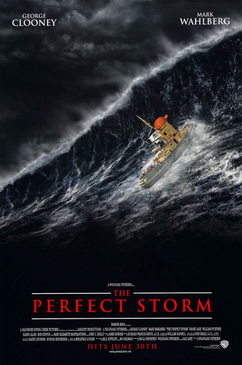 theodorephotobomb:  Theodore did all the stunts in 'The Perfect Storm'.