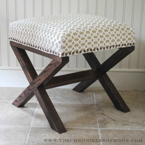 DIY stool from The Chronicles of Home