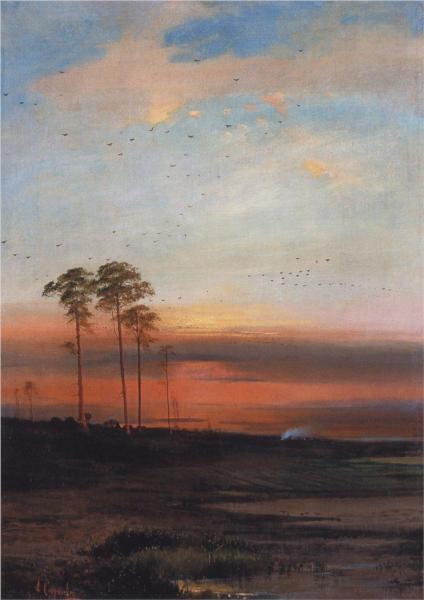 Aleksey Savrasov - Sunset