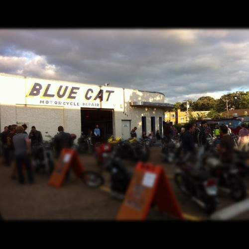 Blue Cat Motors bike night.  (Taken with Instagram)